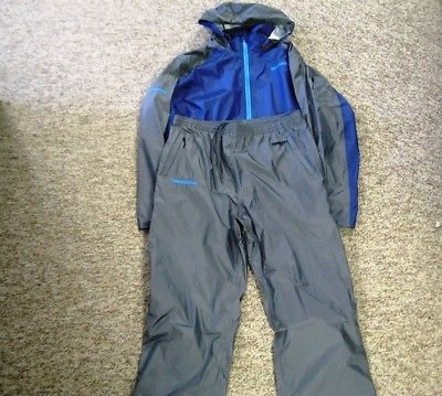 Jacket and Pants Sets 179981: Shimano Light Weight Rain Gear Xl Pants And Jacket Navy -> BUY IT NOW ONLY: $198.98 on eBay!