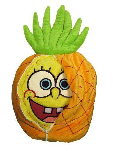 SpongeBob Pineapple Throw Pillow by SpongeBob SquarePants. $18.99