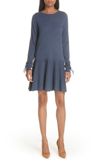 4c163cdf7ce autumn cashmere Drop Waist Cashmere Dress