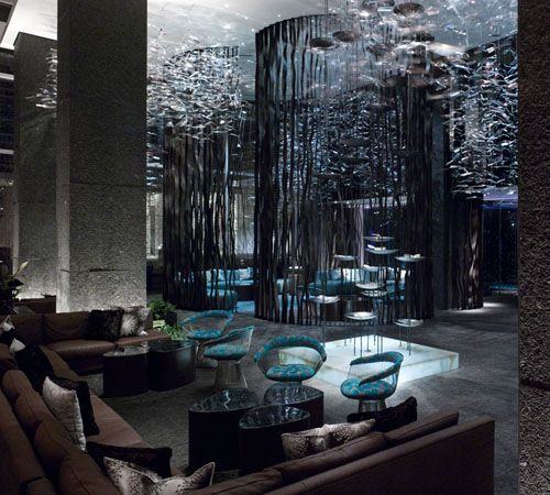 W Hotel Atlanta. Makes me want to go there just to see this. I soooo want to use this as inspiration for my house.