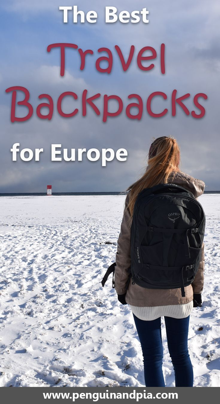 Looking for the best travel backpacks for your Europe trip? Look no further, we compared some of the top backpacks out there so you can find your perfect travel companion #travelbag #travel #europe #travelplanning