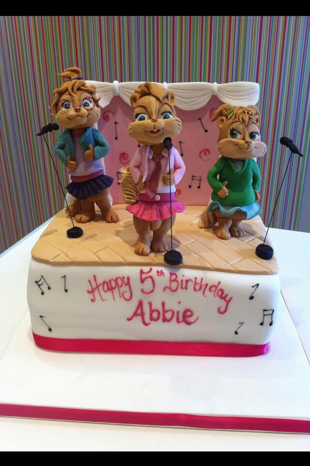 Chipmunks Richards Cakes All About Sugar Art Cake