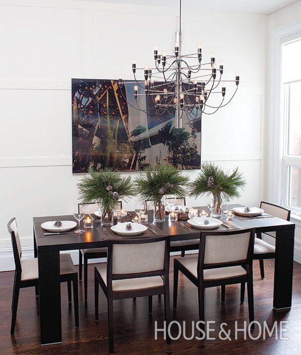 15 Party Ready Dining Rooms With Holiday Flair TablesThanksgiving TableHoliday DecoratingChristmas