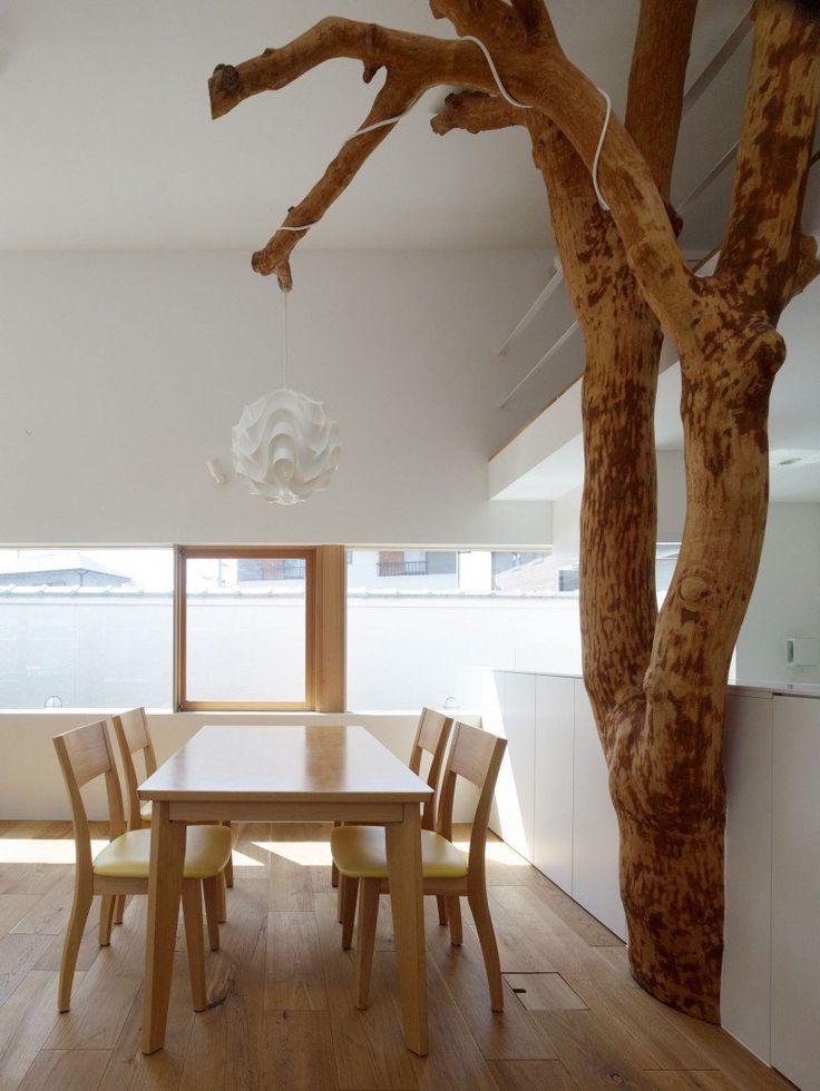 Магический дизайн: интерьер с «деревом счастья»
