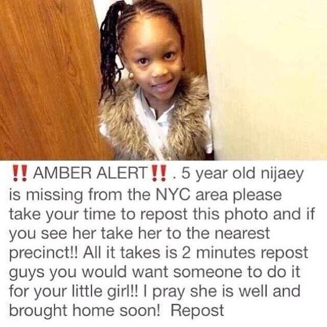 Prayers for her to be safely