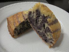 「パープル・ゼブラケーキ。」PCWP | お菓子・パンのレシピや作り方【corecle*コレクル】