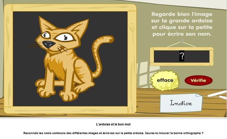 Un jeu tout simple dans lequel les élèves doivent compléter la première syllabe des mots à l'écran.