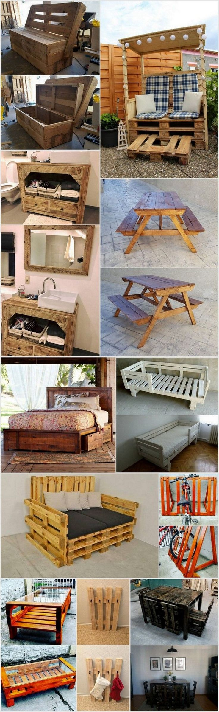 Fun Ways to Repurposed the Used Wood Pallets