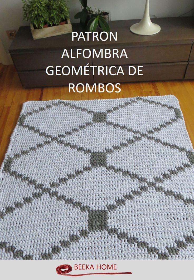 Patrón Alfombra Geométrica Beeka Home  (en Español-in Spanish) by BeekaHome on Etsy