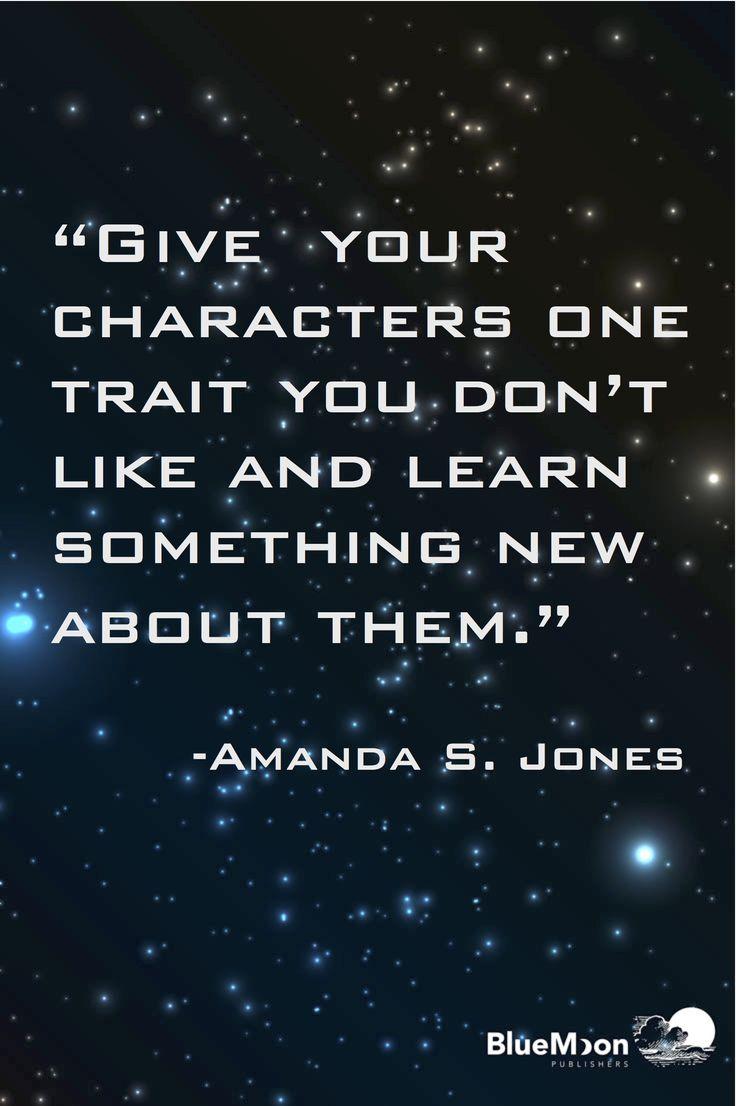 A writing tip from author Amanda S. Jones