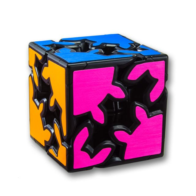 Idle hands are the Devil's playground, so keep them busy for a long time on the Gear Shift puzzle cube, for your safety and others. :)