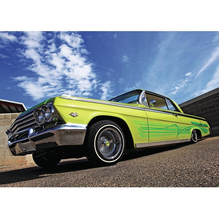 "1962 ""Cruz control"" #lowrider #impala #lowridermagazine"