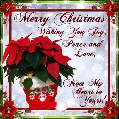 Merry Christmas Wishing You Love Peace And Joy