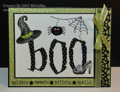 The Cricut Bug: BOO! My Craft Spot's Fall Blog Hop