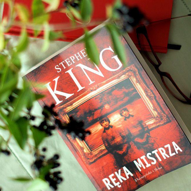 """Bookiecik - blog o książkach, literatura kobiecym okiem.: """"Ręka mistrza"""" Stephen King"""