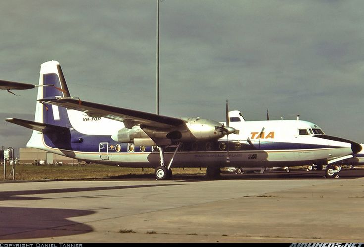 Fokker F-27-600 Friendship - Trans Australia Airlines - TAA | Aviation Photo #2595355 | Airliners.net