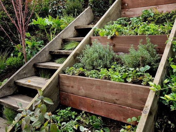 Especially in Colorado, with our retaining walls, this is a fun idea.