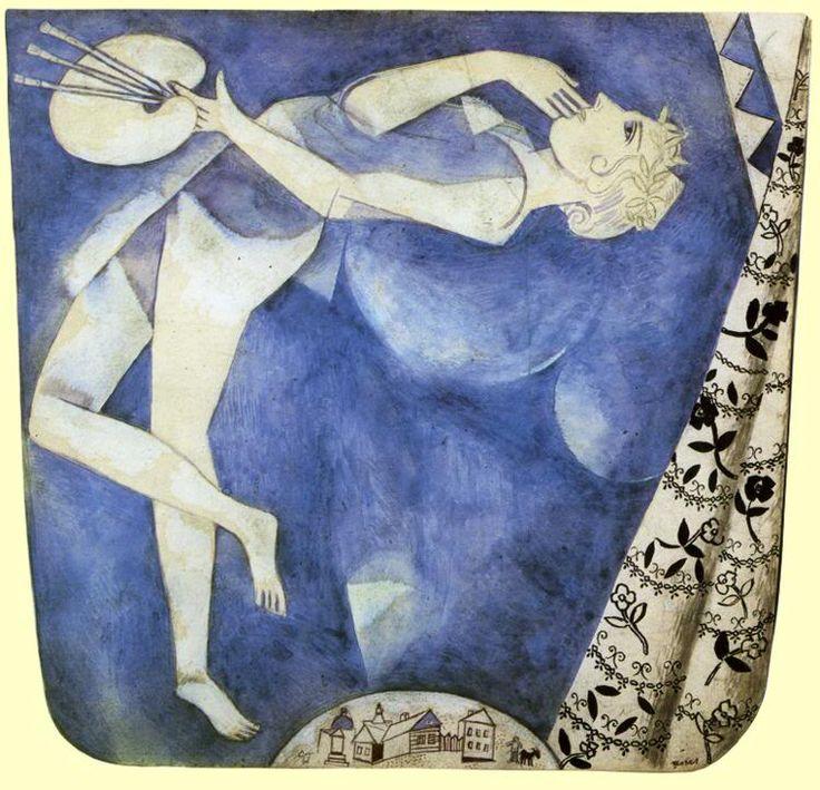 Это сладкое чувство полета – оно возникает, когда смотришь на картины Шагала  http://tanjand.livejournal.com/1620970.html