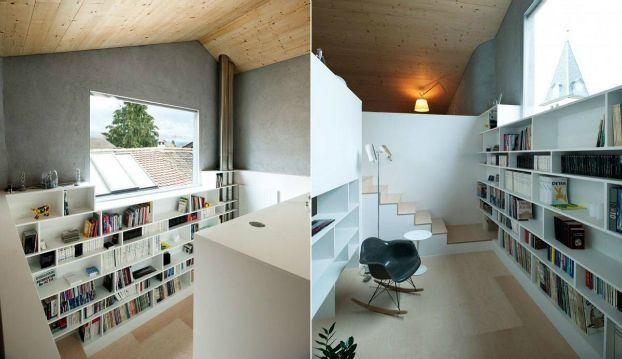 Awesome Attic Libraries 13 Atticinsulationstoragespaces Attic Bedroom Small Attic Apartment Attic Renovation