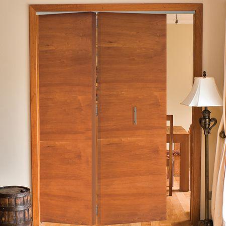 Sistema plegable colgante para 2 puertas de hasta 40 kg - Kit puertas plegables ...