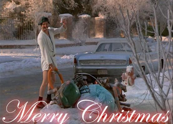 "Christmas Vacation is Linda and Jess' pick.    ""Growing up, my family watched this every Thanksgiving and Christmas Eve. It got to the point where we would all be reciting the lines with the characters and still laughing hysterically. No matter how many times I see it, it's always just as funny as the first time I saw it,"" says Jess."