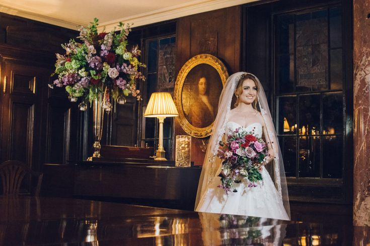The #bride at Belchamp Hall - we specialise in #intimate #weddings for up to 50 people.