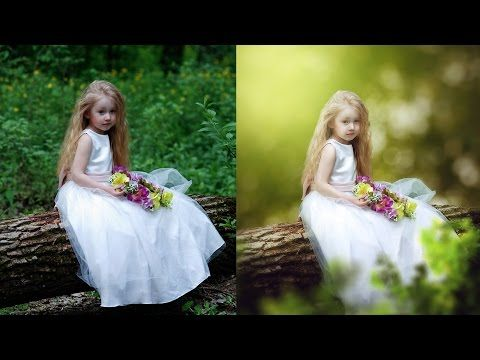 Photoshop CC Tutorial - Fantasy Look Photo Effect Editing | Change Background - YouTube