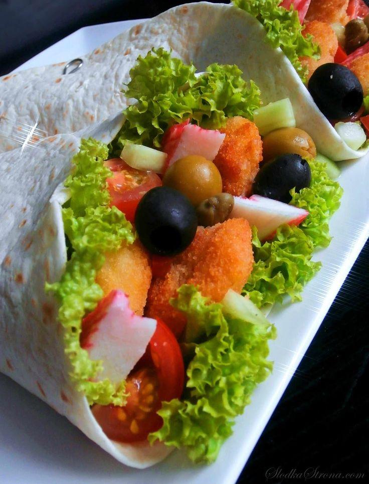 Słodka Strona: Tortilla z Krewetkami