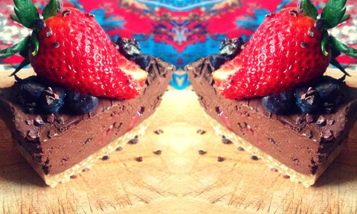 Recipe | Raw Chocolate Mousse Slice