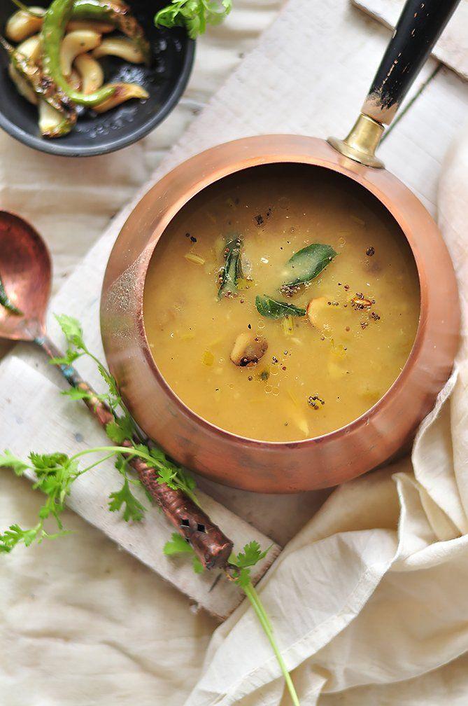 लहसन दल - Garlic Dal (Recipe In Hindi)