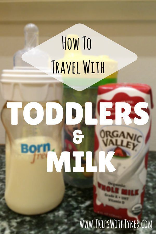 How to Travel with Toddlers and Milk: Air travel with toddlers is challenging enough without worrying about bottles or sippy cups.  Make your next flight easier with tips and products for navigating TSA lines with milk for your toddler.