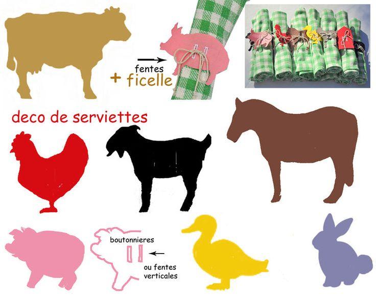 FETE A THEME : LA FERME EN FOLIE - 1 et 2 et 3 DOUDOUS * PATRONS* PATTERNS * GABARITS FETE A THEMES POUR ENFANTS