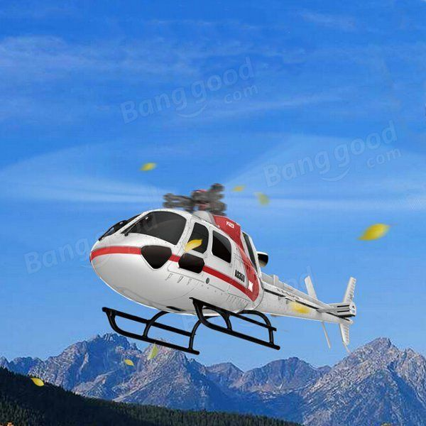 XK K123 6CH Brushless AS350 Scale RC Helicopter RTF Mode 2 Sale - Banggood.com  #toys #aiplanes #quadcopters #drones #helicopters #cars #models