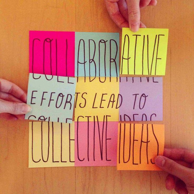 Collaborative efforts lead to collective ideas. #character #collaborate