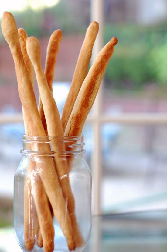 Italian breadsticks! So easy to make, you'll never buy them again.