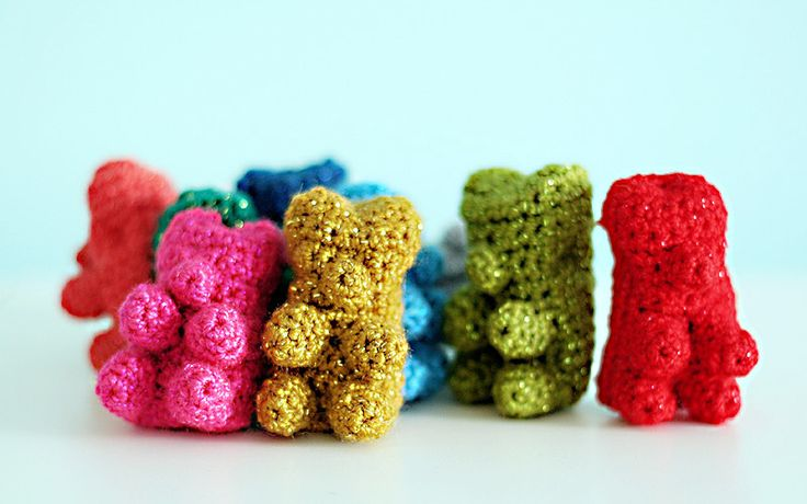 Amigurumi Gummy Bear : 162 best images about Because I Love Gummy Bears on ...