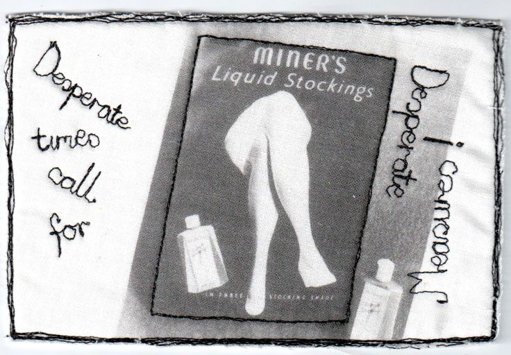 No nylons available.. by Andrea Taylor