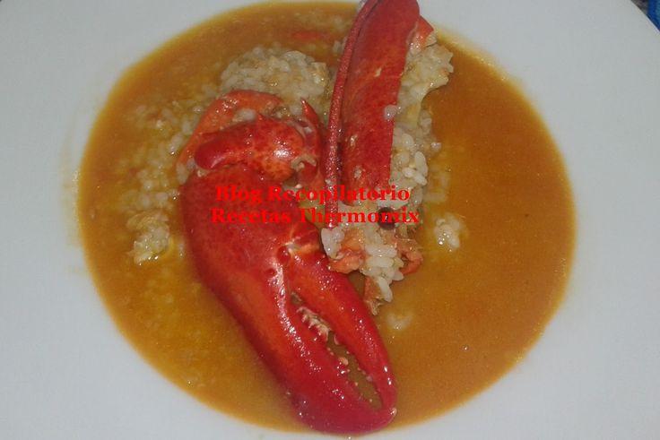 arroz bogavante thermomix
