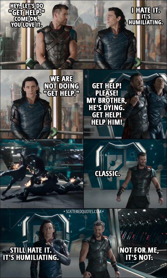 30+ Best 'Thor Ragnarok (2017)' Quotes Loki marvel