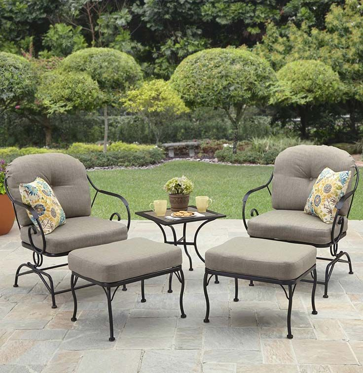 better homes and gardens myrtle creek 5 piece outdoor leisure set - Better Homes And Gardens Outdoor