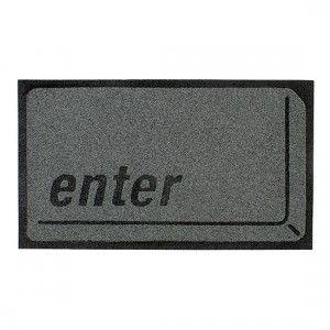 """Felpudo Tecla """"Enter"""" / """"Enter"""" Key Doormat · Tienda de Decoración y Regalos originales UniversOriginal"""