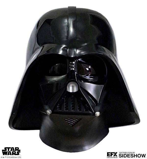 BLOG DOS BRINQUEDOS: Darth Vader Helmet Star Wars Prop Replica