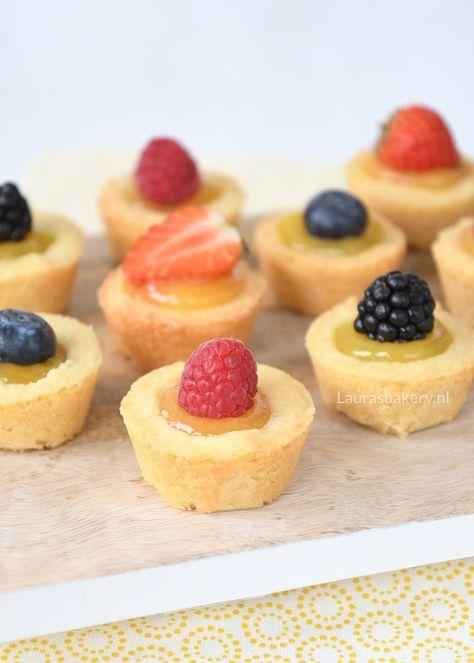 Mini citroen fruittaartjes - Laura's Bakery