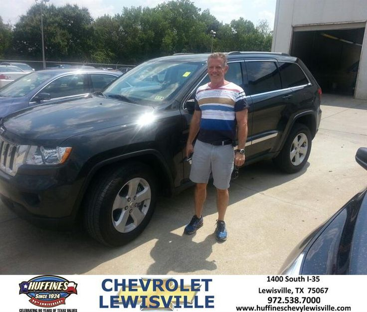 #HappyAnniversary to Harry Martin on your 2011 #Jeep #Grand Cherokee from James Bruck at Huffines Chevrolet Lewisville!