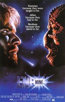 Enemy Mine http://www.imdb.com/title/tt0089092/