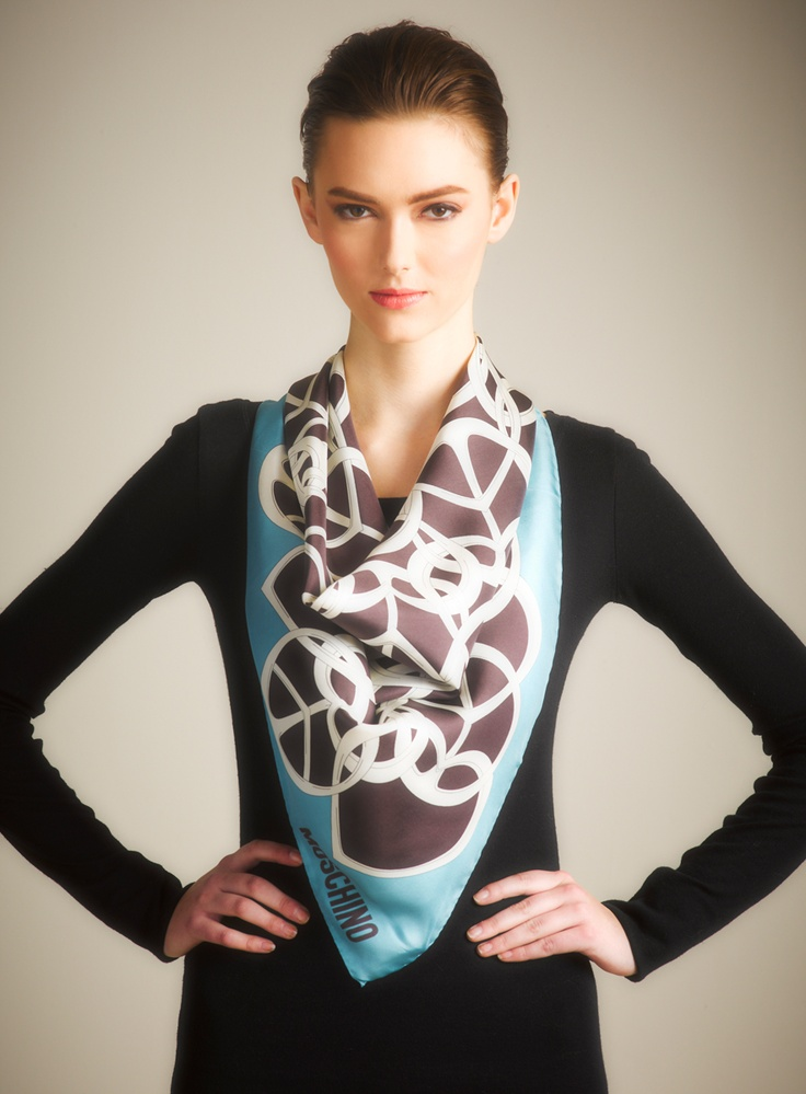 Another way to tie a Silk Scarf. Maybe for travel & pre-interview dinners?