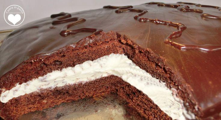 Torta kinder delice..  per la ricetta cliccate qui: http://blog.giallozafferano.it/puccamary/torta-kinder-delice/