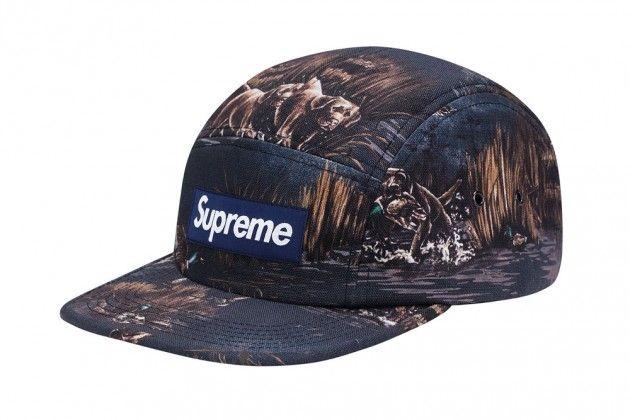 Supreme Dogs Canvas Camp Caps