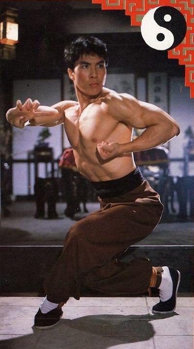 "gutsanduppercuts:  Donnie Yen in his first ever film, ""Drunken Tai Chi."""