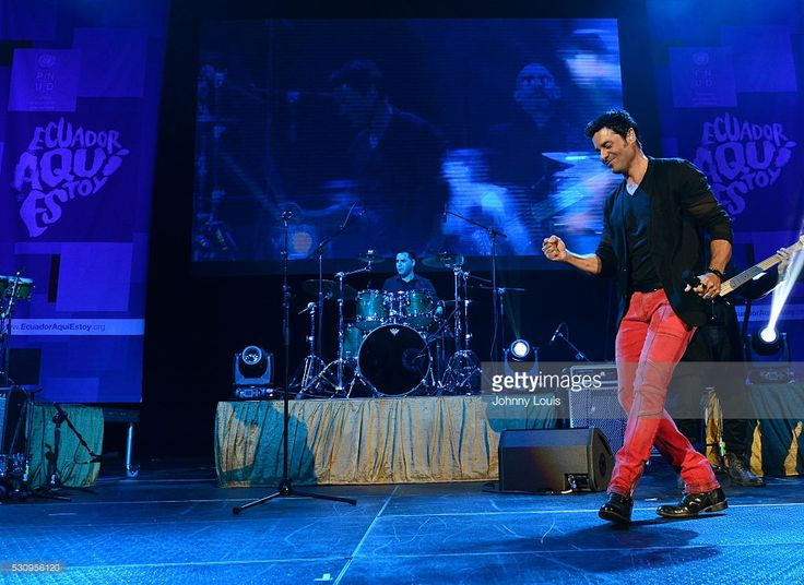 Chayanne participates in Benefit For Ecuador - 'Aqui Estoy' at BankUnited Center on May 11, 2016 in Miami, Florida.